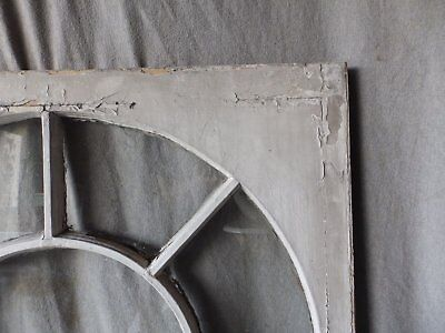 Antique Palladian Window Dome 7 Lite Arch Top Cabinet Shabby Chic 40X34 70-17P 3