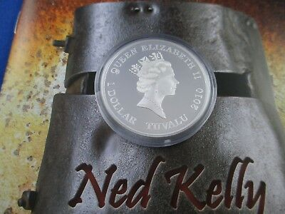 Ned Kelly 2020 $5 2oz Silver Proof Coin ICONIC AUSTRALIAN 750 MADE IN STOCK!