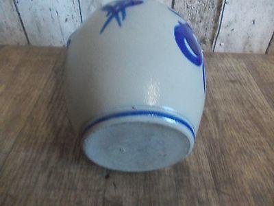 Westerwälder Tonflasche,Keramik Flasche,Salzglasur,Westerwald,Feldflasche 6
