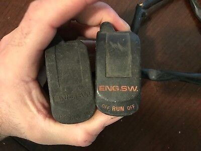 """CEV handlebar mounted multiple function kill switch mount to any 7//8/"""" = 24mm bar"""
