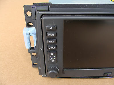 06 09 C6 Corvette Nav Navigation Unit Am Fm Radio Cd Player 15820017 0413 3