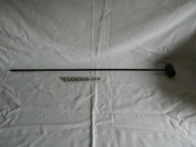 Alter handgeschmiedeter Handbohrer Bohrer Eisen und Holz 2