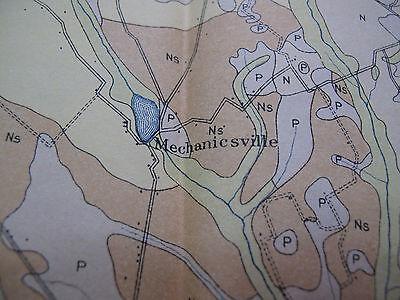 Soil Survey Map Lee County South Carolina Bishopville Lynchburg Smithville 1907 3