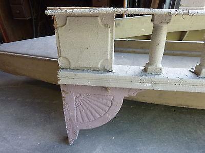 c1882 VICTORIAN GINGERBREAD porch spandrel FRETWORK pediment ~ FANCY 90.5 x 25.5 6