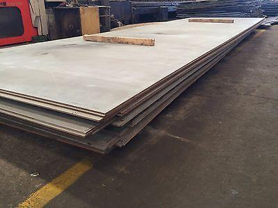 """1//4/"""" .250 HRO Steel Sheet Plate 12/"""" x 14/"""" Flat Bar A36"""