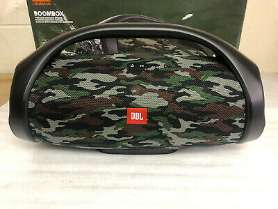 Jbl Boombox Squad 60W Portable Bluetooth Wireless Speaker Camo Rechargeable New 4