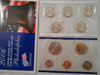 Coins:Collection: 2006 US Mint Uncirculated Coins: 2 Sets :Philadelphia/Denver 10
