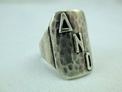 Antique Arts & Crafts Chicago Art Silver Shop Sterling Silver Ring 1912-34 219B 2