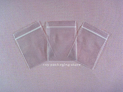 500 Small ZipLock Zip Lock Plastic Resealable Plastic Bag 40MMX50MM + FREE SHIP