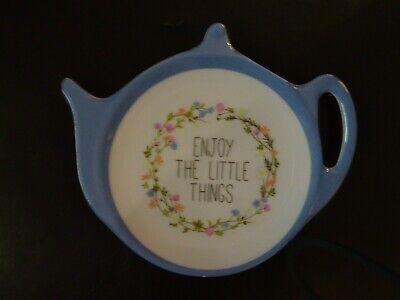 Mandala Tea Bag Holder Kitchen Ware Tea Bag Tidy Spoon Tidy 12 cm
