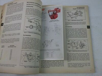 Briggs & Stratton 1986 service and repair instructions 4