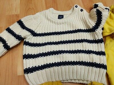 Lot of Boys 2T Toddler GAP Sweater Polo Ralph Lauren Yellow Janie & Jack GUC tie 4