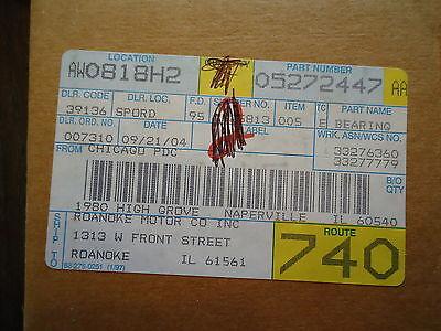 New Mopar Bearing, Part# 1-05272447Aa Made In Usa. 3