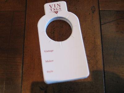 Wine Storage Tags - Vin Tags - 20 packs of 50 wine tags 5