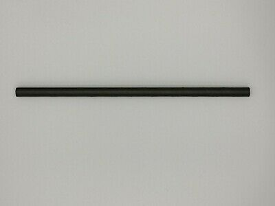 Bulk Paper Straws drinking straw trade  6mm x 200mm Black 1000 / 5000 /10000 10