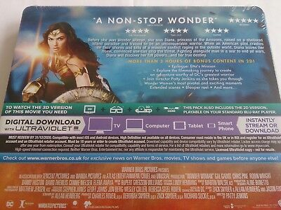 Wonder Woman 3D (4000 ONLY HMV Exclusive Limited Ed Blu-ray Steelbook) [UK 7