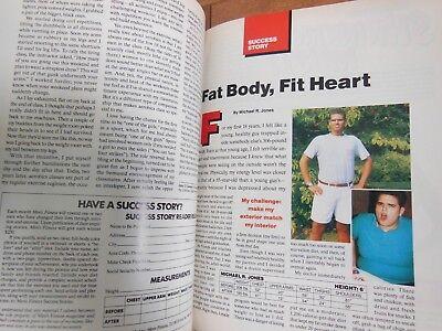 Men's Fitness January 1992- Physique Magazine- 3