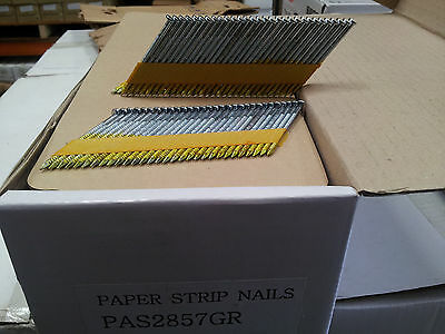 34 degree Paper Collated Strip Nails, Fit IM350 50mm - 90mm Framing Nailer Nails 3