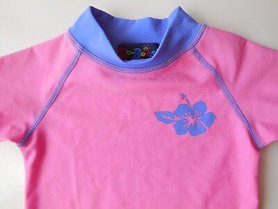 Baby Toddler Girl Ka-Boosh Rash Top Bathers Swimwear Size 1 Euc