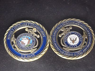 U.S. Navy / Core Values - USN Challenge Coin Naval Collectible Sailor 5