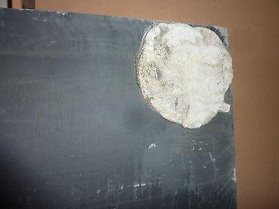 "antique ORIGINAL circa 1920's schoolhouse SLATE chalkboard 72.5 x 36"" UTICA, NY 7"
