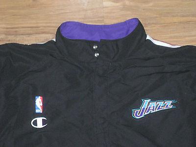2 of 11 Nba Champion Utah Jazz Game Used Worn Jacket 46 Jersey Uniform  Bryon Russell  3 93cbc8fa4
