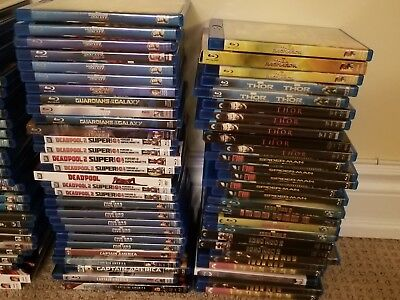 Marvel Blu Ray Movies Iron Man Captain Marvel Avengers Dr. Sleep Ford V Ferrari 3
