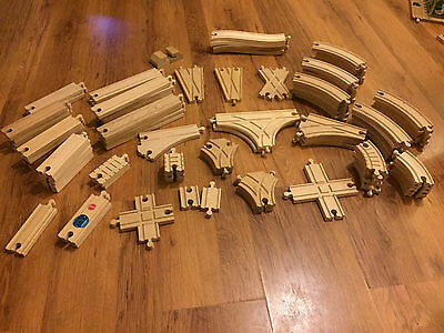 Brio & Compatible Wooden Train Track Selection with Combined Postage 2