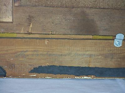 *Marius Nielsen* Listed Danish Artist Antique Seascape Oil On Canvas Painting 8