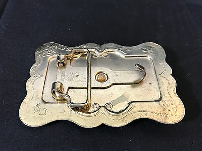 Silver & Gold Tone LOT of Western Style Belt Buckles New Mexico Arizona Horse 3