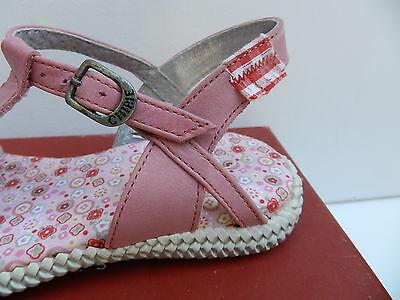 Chipie Mitoune Sandales Fille 32 Chaussures Sabots Nu-pieds Fleurs Azalee Neuf 3