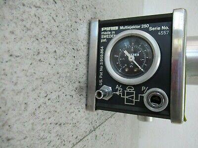 Piab Multi-Ejector 250 Vacuum Pump US Patent 3.959.864 6