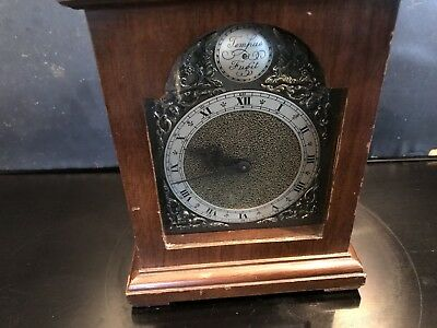 Bracket Clock With Superior Rotherham Of Coventry 8 Day Movement 2