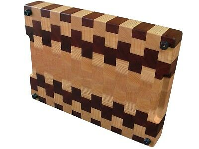 Cutting Board End Grain, Wooden, Handmade, with Feet, Chopping Board, Kitchen 2