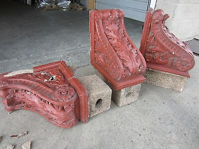 ~ Great Set Of Antique Stone Corbels ~ Architectural Salvage ~ 2