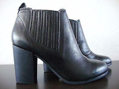2 von 12 ESPRIT Stiefelette Damen Ankle Boots Leder Schuhe Cukka Schwarz Gr.38  NEU 66bb4cde61