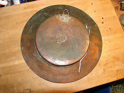 antique persian islamic middle eastern arabic copper plate 3