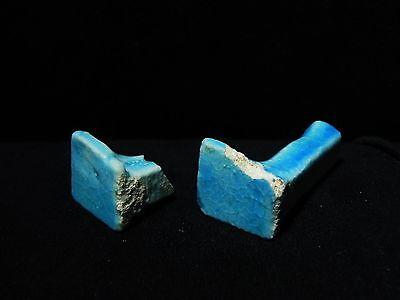 Zurqieh -Ancient Egypt - Two Ptolemaic Ushabti Legs, 300 B.c
