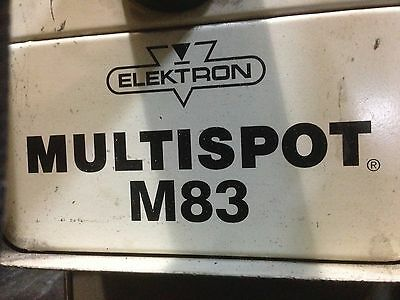 ELEKTRON-BREMEN M83 RESISTANCE Spot Welder 15 KVA