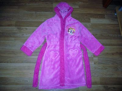 girls disney princess pink dressing grown age 6-7 years 2