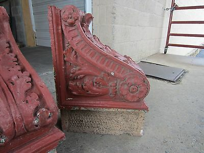 ~ Great Set Of Antique Stone Corbels ~ Architectural Salvage ~ 3