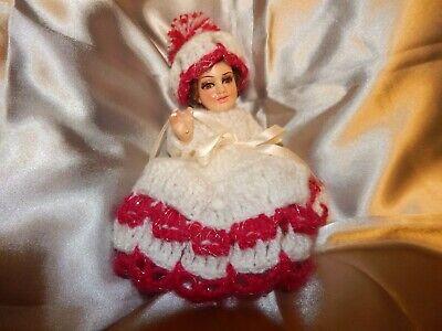 Nino Dios Hermoso Vestido Tejido Set Baby Jesus Dress Set