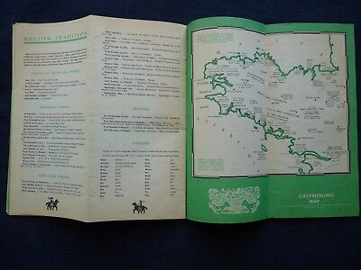 1950s Vintage Guide Brittany France Town Guides Railway Celebrations 8