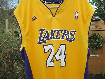 ADIDAS ORIGINAL LA Lakers Los Angeles KOBE BRYANT #24 (S