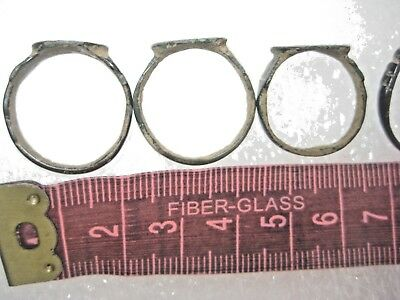 ANCIENT Bronze Rings Find Ancient ROMAN MEDIEVAL ARTIFACT 10
