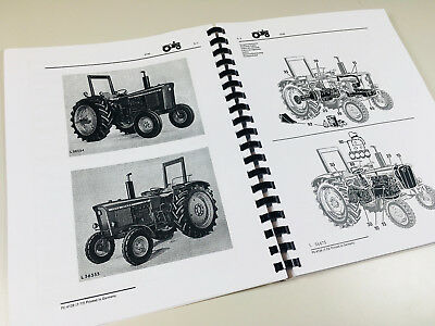 PARTS MANUAL FOR JOHN DEERE 820 TRACTOR CATALOG ASSEMBLY EXPLODED VIEWS NUMBERS