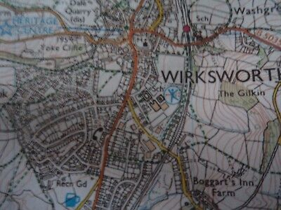 Ordnance Survey map Outdoor Leisure Peak District 2007 Matlock Buxton Bakewell 6