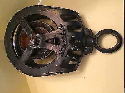 Vintage F.e. Myers & Bros. Barn Hay Pulley H360, Ashland, Ohio ~ Early, Fancy ~ 4