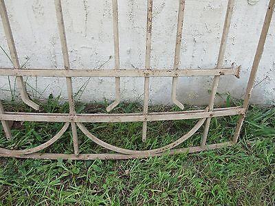 Antique Victorian Iron Gate Window Garden Fence Architectural Salvage Door #2 4