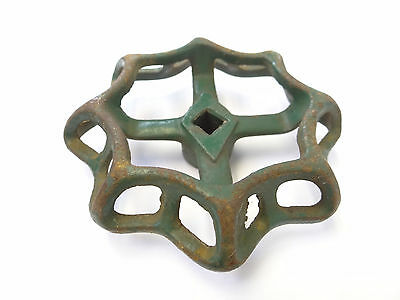 Two Cast Iron & Brass Hose Spigot Knobs Handles Hardware Parts Design Plumbing 4
